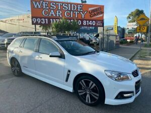 2015 Holden Commodore VF MY15 SV6 Storm White 6 Speed Automatic Sportswagon Hoppers Crossing Wyndham Area Preview