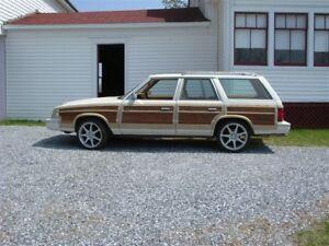 1985 LeBaron Woody wagon