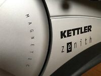 Kettler Zenith Cross Trainer with heart rate monitor & 13 programmes - good condition