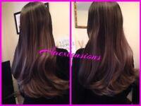 Kingslynn Hair Extensions Nano Rings - Micro Rings - Tape In - Weave - LAWeave Peterborough
