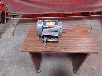 General Electric 3 Hp Induction Motor Model 5k145al25