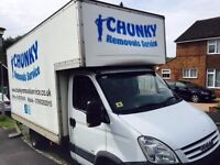 PROFESSIONAL REMOVALS / MAN & VAN SERVICE / CLEANING SERVICE / HOUSE CLEARANCE / 24-7 /