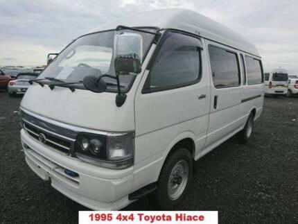1995 Toyota 4x4 Hiace Commuter Campervan 4wd high/low range!!