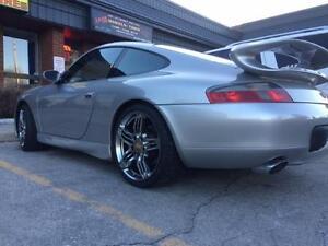 "$799 (Tax-In) - NEW 19"" Porsche Turbo style reps (5x130) for PORSCHE 911/ Boxster/ Cayman/ Panamera/ 944/ 928/ 968"
