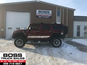 2004 Hummer H2 Lifted Luxury!! Brand New Tires!! 4x4!! Rare!!