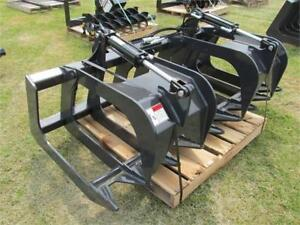 (2) Stout Skid Steer Brush Grapples, 72-8 & 66-9 *AUCTION*