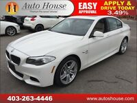 2011 BMW 535i NAVIGATION M PACKAGE 90 DAYS NO PAYMENTS