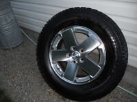 Cooper Winter tires on Jeep wheels