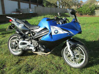 BMW F 800 ST ABS SPORTS TOURING MOTORCYCLE