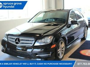 2013 Mercedes-Benz C-Class C' CLASS 300-ALL WHEEL DRIVE LOADED