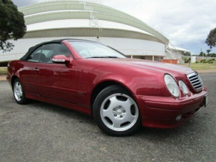 2000 Mercedes-Benz CLK320 Elegance Ember Red 5 Speed Automatic Cabriolet Gepps Cross Port Adelaide Area Preview