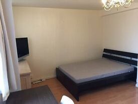 Massive cozy double room for single
