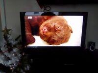 "TV 37"" LCD Wharfedale 1080p/ 2x HDMI , Freeview + Wall bracket"