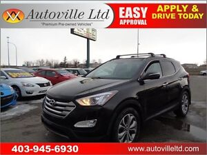 2014 Hyundai Santa Fe AWD Sport LIMITED Nav B.Cam P.Roof Leather