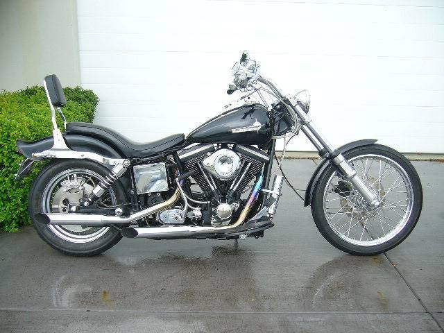 Harley davidson in hervey bay region qld motorcycles gumtree harley davidson wideglide 1985 factory fxwg excellent fandeluxe Image collections