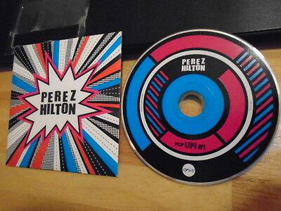 Rare Oop Promo Perez Hilton Cd Pop Up  1 Chantal Claret Kat Graham Kerli Zowie