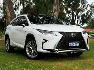 2019 Lexus RX GGL25R RX350 F Sport White 8 Speed Sports Automatic Wagon Myaree Melville Area Preview