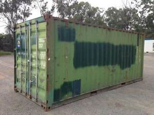 20FT Shipping Containers - USED Rockhampton Rockhampton City Preview