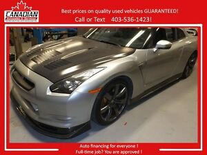 2009 Nissan GT-R ALPHA 9 Over 800 HP 45K in upgrade REDUCED $80k
