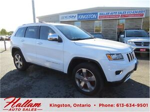 2016 Jeep Grand Cherokee Limited, Leather, Sunroof, Navigation