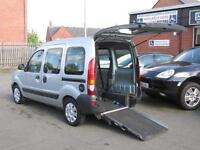 Renault Kangoo automatic wheelchair accessible, disabled access, WAV, mobility