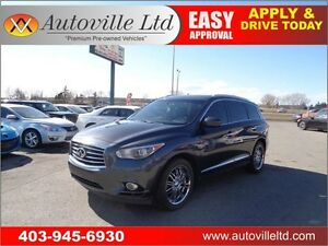 2013 Infiniti JX35 NAVI BCAM 2 DVDs SUNROOF REMOTE START