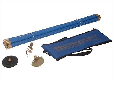 Bailey - 5431 Universal 3/4in Drain Rod Set 3 Tools In Carry Bag