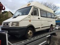 Iveco Minibus 16 seater diesel, starts and drives, does export, bit rough around the edges but very