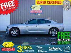 2017 Dodge Charger SXT AWD *Warranty* $185.08 Bi-Weekly OAC