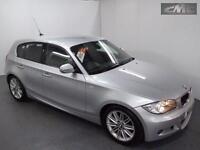 BMW 1 SERIES 118D M SPORT, Silver, Manual, Diesel, 2011