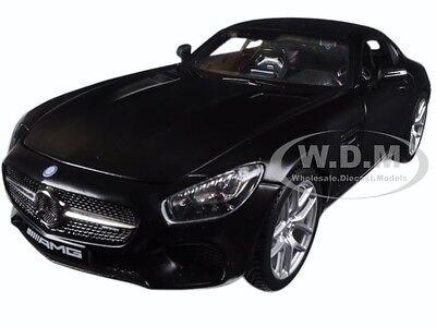 MERCEDES AMG GT MATT BLACK 1:24 DIECAST MODEL CAR BY MAISTO 31134