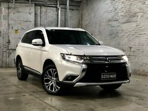 2016 Mitsubishi Outlander ZK MY16 XLS 4WD White 6 Speed Sports Automatic Wagon Mile End South West Torrens Area Preview