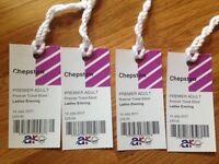 4 x Premier Tickets for Chepstow Races Ladies Evening 14th July