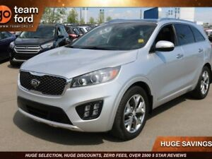 2016 Kia Sorento SX, 3.3L V6 Turbo, AWD, Leather, Navigation, 3r
