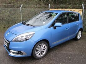 Renault Scenic 1.5 Dynamique Tom Tom Luxe DCi EDC Turbo Diesel Auto (azzurro blue) 2012