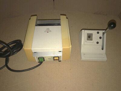 Laminator Model 5000 And Polaroid Photo Id Die Cutter