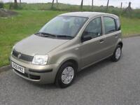 Fiat Panda 1.1 Active ECO 2009 £30 Tax MOT 30/5/18 4 Service Stamps 2 keys Clean