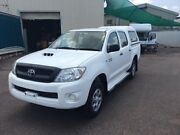 2011 Toyota Hilux KUN26R MY11 Upgrade SR (4x4) White 5 Speed Manual Dual Cab Pick-up Berrimah Darwin City Preview