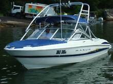 2004 MAXUM SR3 1800 4.3LITRE 220HP WITH WAKEBOARD TOWER & TRAILER Westleigh Hornsby Area Preview