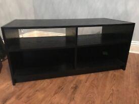 Black laminate Argos TV stand