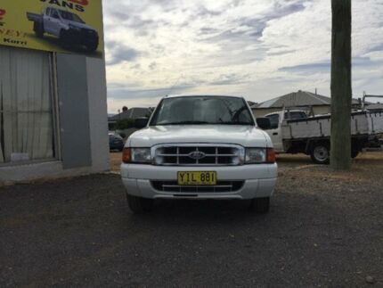 2002 Ford Courier PE GL White 4 Speed Automatic Utility