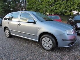 Skoda Fabia 1.2 Ambiente Estate, Immaculate with Low Miles and a Very Comprehensive Service History