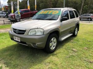2002 Mazda Tribute Limited Traveller Gold 4 Speed Automatic 4x4 Wagon Clontarf Redcliffe Area Preview