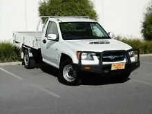 2011 Holden Colorado RC MY11 LX White 5 Speed Manual Cab Chassis Melrose Park Mitcham Area Preview