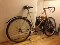 Single speed Raleigh Bicycle