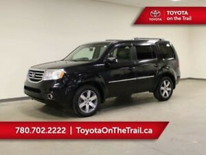 2013 Honda Pilot TOURING; SUNROOF, NAV, LEATHER, 7 PASSENGER, AW