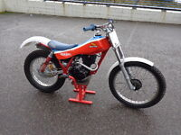 honda trials bike tlr 200 in very good condition getting very collectable in this condition