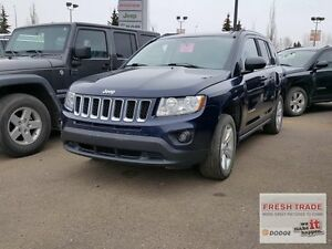 2013 Jeep Compass NORTH/ 4X4/ AUTOMATIC/ LADY OWNED AND DRIVEN Edmonton Edmonton Area image 1