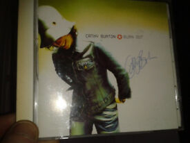 Cathy Burton - Burn Out CD A wonderful album SIGNED by the artist