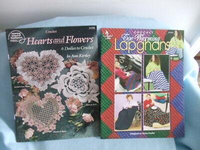 Шаблоны Lot 2 New Crochet Booklets/HEARTS